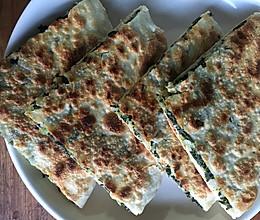 温州野菜秋风丝麦饼的做法