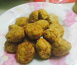 空气炸锅版豆腐丸子的做法