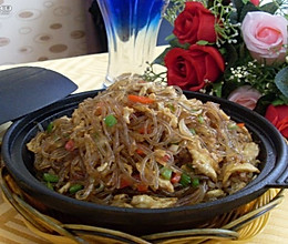特色石锅粉丝的做法