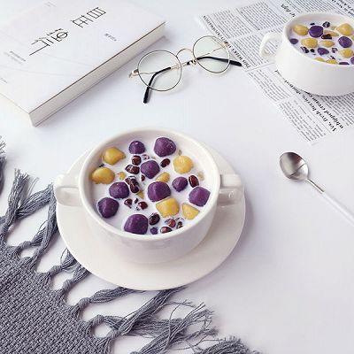 牛奶蜜豆芋圆