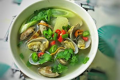 鲜的不行的花蛤汤