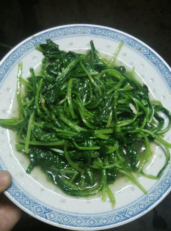 清炒萝卜菜的做法