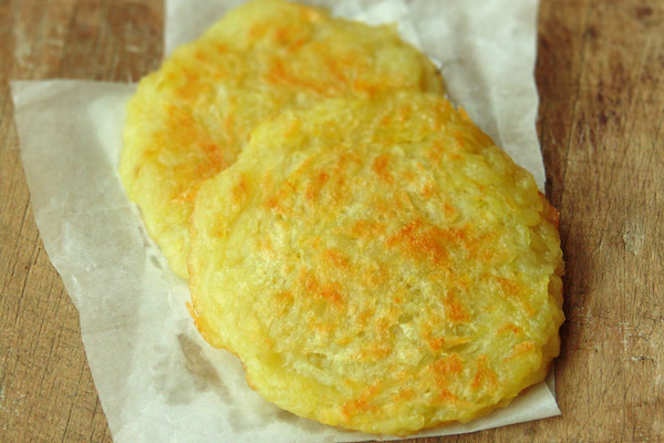 超简单土豆煎饼的做法