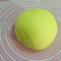 蔬菜汁花样馒头~绣球馒头的做法图解4