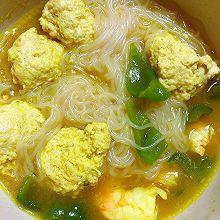 #少盐饮食 轻松生活#咖喱鸡肉丸子面