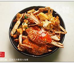 香辣花蟹:回味无穷最是允指香的做法