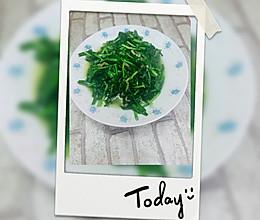 韭菜炒肉丝的做法