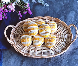 椰香糯米老婆饼的做法