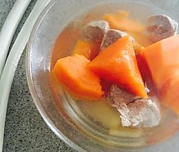 木瓜靓汤的做法