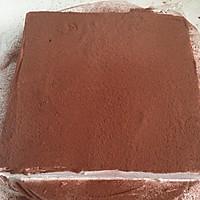 奶油巧克力生日蛋糕的做法图解3