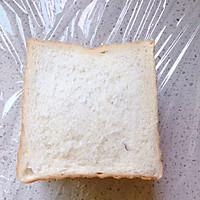 低卡早餐——厚切紫薯香蕉三明治的做法图解8
