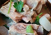 萝卜炖羊肉(家常)的做法