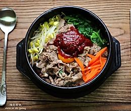 石锅肥牛拌饭的做法