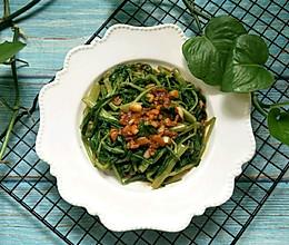 腐汁拌空心菜的做法