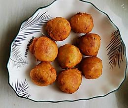 香酥素丸子—炸丸子的做法