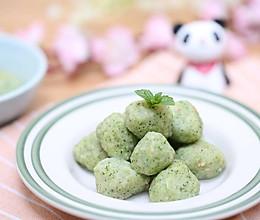 宝宝辅食食谱  翡翠虾球的做法