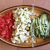 西红柿茄丁面 --- 有型有色快手面的做法图解3