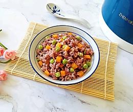 糙米蔬菜饭的做法