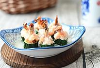 翡翠虾球#美的微波炉菜谱#的做法