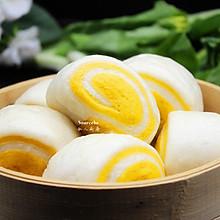 南瓜馒头卷#美的早安豆浆机#