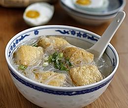 油豆腐粉丝汤的做法