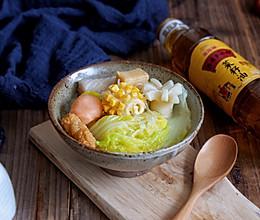 娃娃菜丸子粉丝汤#金龙鱼外婆乡小榨菜籽油 外婆的时光机#的做法