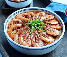#一道菜表白豆果美食#大虾粉丝煲