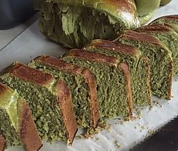 抹茶面包的做法