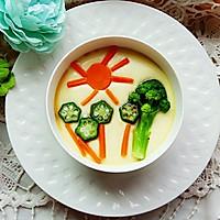 蔬菜蒸蛋羹#嘉宝笑容厨房#的做法图解5