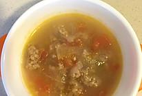 冬蕃茄冬瓜牛肉汤的做法