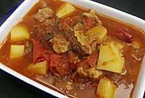 #憋在家里吃什么#番茄土豆炖牛腩的做法