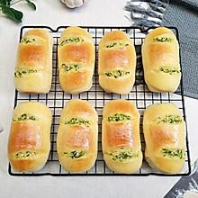 蒜香火腿面包#福气年夜菜#