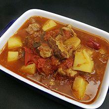 #憋在家里吃什么#番茄土豆炖牛腩