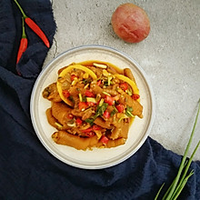 网红柠檬百香果鸡爪
