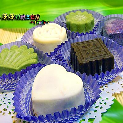 冰激凌月饼DIY