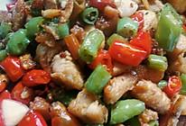 青椒鸡丁的做法