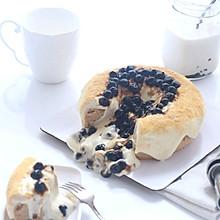 黑珍珠豆乳爆浆蛋糕#马卡龙·奶油蛋糕看过来#