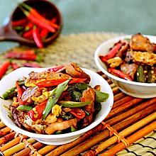 湘菜-农家一碗香(荷包蛋辣椒炒肉)