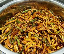 腌香辣萝卜条的做法