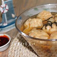 #花10分钟,做一道菜!#鲜虾云吞-快手早餐的做法图解12
