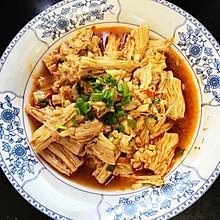 凉拌菜豆笋(腐竹)