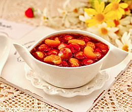 #憋在家里吃什么#黑糖蜜桔酒酿圆子的做法