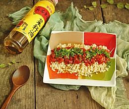 剁椒蒸金针菇#金龙鱼外婆乡小榨菜籽油 外婆的食光机#的做法