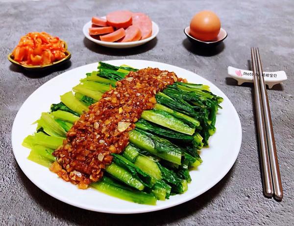 蚝油蒜蓉油麦菜的做法