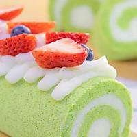 菠菜山药蛋糕卷 宝宝辅食食谱的做法图解24