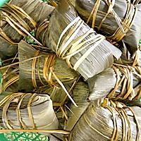瑶柱虾米粽的做法图解5