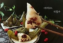 #精品菜谱挑战赛#红豆红枣糯米粽的做法