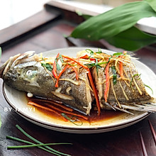 #今天吃什么# 清蒸鲈鱼