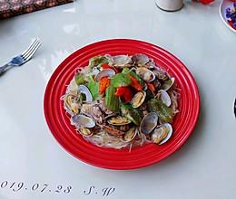 椒椒蛤蜊丝瓜粉的做法