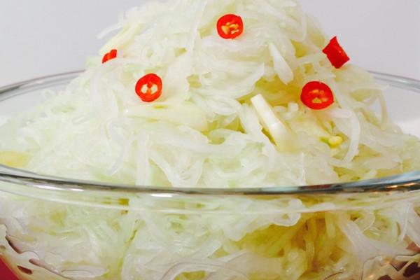 芥香芥菜疙瘩(苤蓝疙瘩)的做法